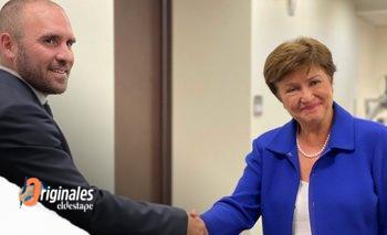Guzmán se reunió con Georgieva y con David Lipton en Washington | Deuda con el fmi