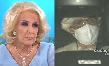 Conmoción por las fotos de Mirtha Legrand tras salir del hospital | Televisión
