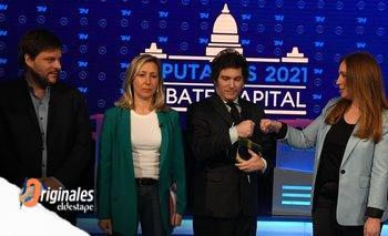 Acorralada, Vidal cayó en sincericidios y Milei quedó desdibujado | Debate ciudad