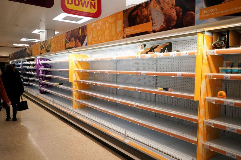 La inflación de Reino Unido podría alcanzar los dos dígitos | Alimentos