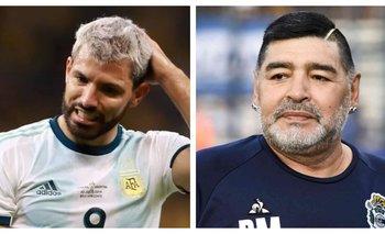 La desgarradora confesión de Agüero sobre la muerte de Maradona   Fútbol