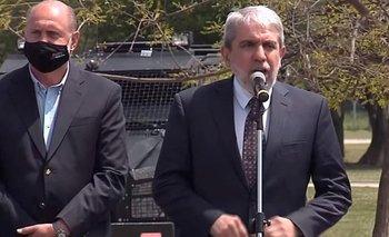 Aníbal y Perotti presentaron a 575 efectivos de Gendarmería Nacional en Rosario | Seguridad