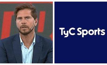 El palazo del Pollo Vignolo a los periodistas de TyC Sports   Televisión
