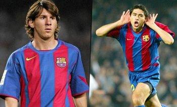 El día del debut de Messi en Barcelona: asado con Riquelme y una denuncia insólita   Deportes