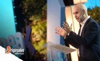 Rodeado de empresarios, Larreta lanzó su candidatura presidencial | Horacio rodríguez larreta