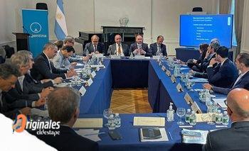 Manzur y Guzmán mostraron un gobierno unido en busca del acuerdo | En ee.uu.