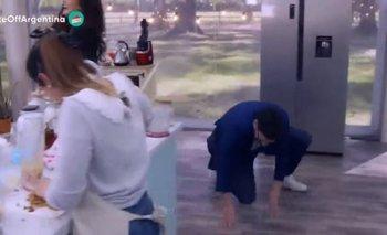 """Damián Betular se cayó y Paula Chaves lo destrozó: """"Guarda que estás mayor""""   Televisión"""