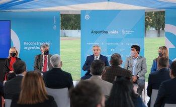 Alberto anunció la creación de un nuevo polo productivo en La Matanza | Reactivación económica