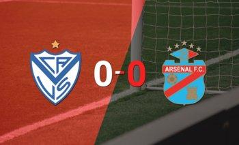 Sin goles, Vélez y Arsenal igualaron el partido   Argentina - liga profesional 2021