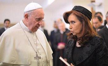 Cristina difundió un mensaje del Papa: medios, FMI y vacunas | Cristina kirchner