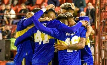Boca goleó 3-0 a Huracán y se acerca a los primeros puestos   Liga profesional