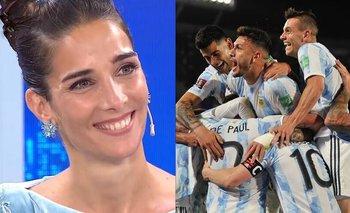 Sorpresivo regalo de un integrante de la Selección a Juana Viale | Televisión
