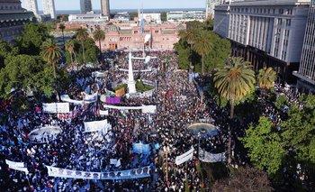 Día de la Lealtad: así fue el festejo en las calles por el 17 de octubre | Día de la lealtad