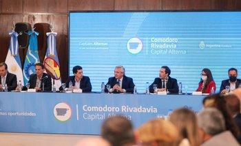 Alberto anunció inversiones para Chubut por más de $ 12.176 millones   Elecciones 2021