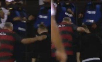 Se pudrió todo: Iván Delfino tomó del cuello a Sebastián Beccacece | Fútbol argentino