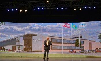 Zamora presentó el proyecto del nuevo Hospital de Alta Complejidad   Provincia de buenos aires