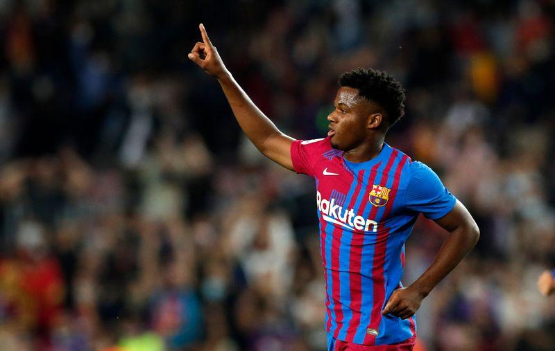 La impresionante cláusula de Barcelona por Ansu Fati   Fútbol