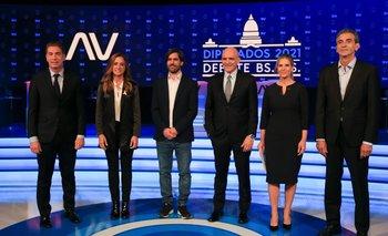 El minuto a minuto del debate de los candidatos  | Debate 2021