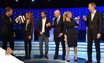 Tolosa Paz descolocó a Santilli en el debate de candidatos | El debate de cara a las elecciones