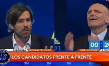 """El exabrupto de Espert contra Del Caño: """"Nico internate, estás mal de la cabeza""""   Elecciones 2021"""