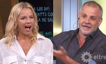 Christian Petersen sorprendió a Carina Zampini con un piropo picante | Televisión