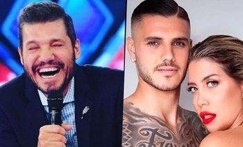 Explosiva burla de Marcelo Tinelli a Mauro Icardi por Wanda Nara   Televisión