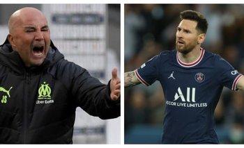 Sampaoli apuntó contra Messi en la previa del clásico de Francia   Fútbol