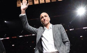 Manu Ginóbili quedó afuera de los mejores 75 jugadores de la NBA | Emanuel ginobili