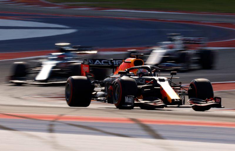 """F1: Verstappen llama """"idiota"""" a Hamilton en la previa   F1"""