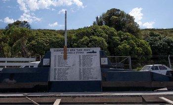 Ara San Juan: se inauguró un memorial en Mar del Plata a cuatro años de su último embarque   Ara san juan