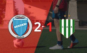 Godoy Cruz le ganó a Banfield en su casa por 2-1 | Argentina - liga profesional 2021