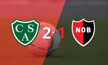 Sarmiento consiguió una victoria en casa por 2 a 1 ante Newell`s | Argentina - liga profesional 2021