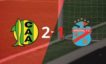 Aldosivi logró una victoria de local por 2 a 1 frente a Arsenal | Argentina - liga profesional 2021
