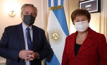 Alberto se reunirá con Georgieva en la cumbre del G20 en Roma | Deuda con el fmi