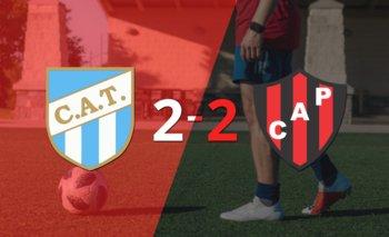 Atlético Tucumán empató 2-2 ante Patronato con doblete de Ramiro Carrera | Argentina - liga profesional 2021
