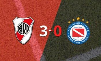 River Plate fue mucho más y venció 3-0 a Argentinos Juniors | Argentina - liga profesional 2021