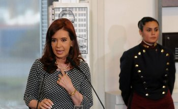 "Cristina permanece ""estable"" en su cuarto día de internación | Cristina kirchner"