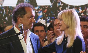 El mensaje de Karina Rabolini a los votantes de Scioli   Daniel scioli