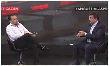 Massa mostró su preocupación por la amenaza a Navarro | El destape