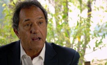 Scioli se solidarizó con Navarro por la amenaza sufrida | Grupo clarín