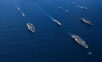 Portaviones de EE.UU. llegan a la península de Corea y aumenta la tensión | Estados unidos