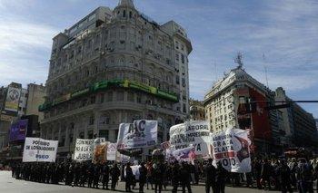 Marcha de trabajadores de Pepsico contra la CGT y la reforma laboral | Pepsico
