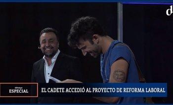 La flexibilización laboral según El Cadete de Roberto Navarro | Vuelve navarro