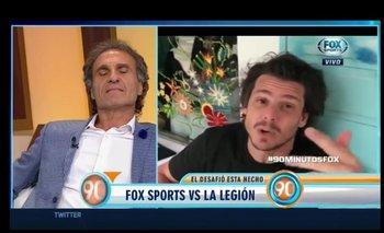 Fuerte cruce entre Ruggeri y Gastón Gaudio | Fútbol
