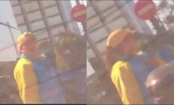 Alexander Caniggia se filmó insultado a un agente de tránsito y lo denunciaron al INADI | Transporte