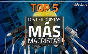 El Destape te invita a conocer el ranking de periodistas más macristas | Viral