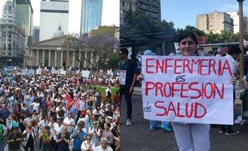 Ciudad: médicos y enfermeros marcharán contra la flexibilización laboral de Larreta | Por maría miranda