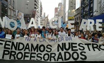 Ciudad: Rodríguez Larreta está a un paso aprobar la UniCABA y destruir 29 profesorados | Por maría miranda