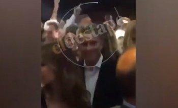 Un nuevo video muestra a Mauricio Macri en una fiesta tras el anuncio de la tragedia del submarino ARA San Juan | Mauricio macri