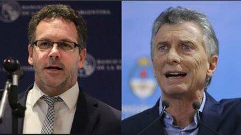 El presidente del Banco Central culpó a Macri por la pérdida millonaria de reservas | Macri presidente